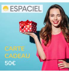 Carte cadeau Espaciel de 50€