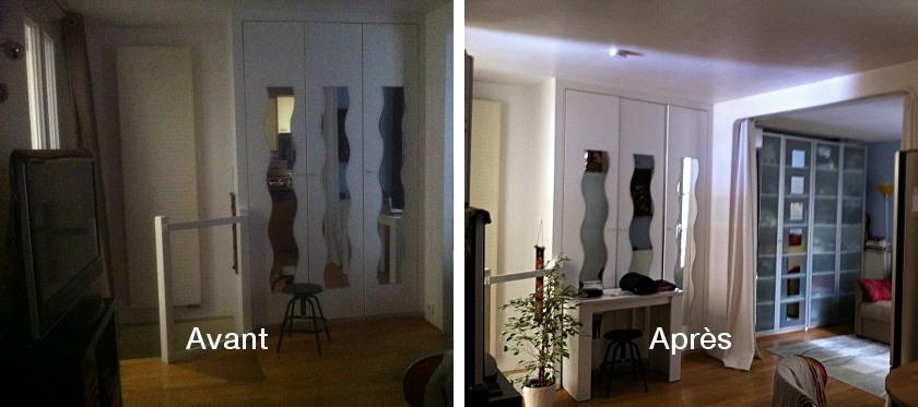 avant-apres-de-la-piece-changement-luminosite-optimale-avec-le-reflecteur-mural-espaciel