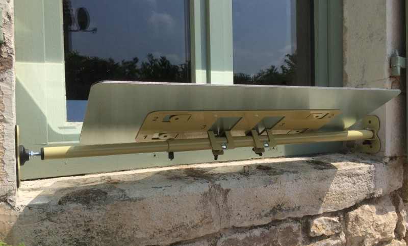 réflecteur extérieur installation fenêtre