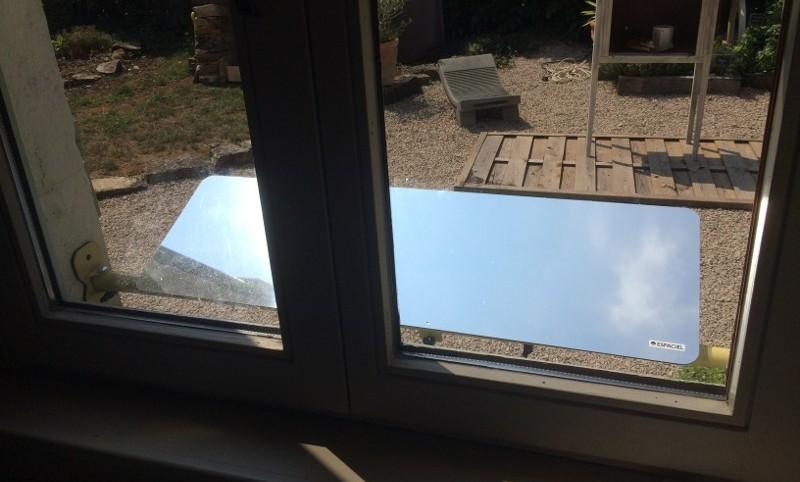 réflecteur extérieur installation