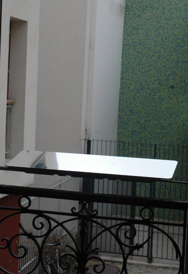 installation reflecteur exterieur