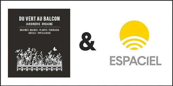 logo-de-espaciel-et-logo-de-la-jardinerie-du-vert-au-balcon-lyon