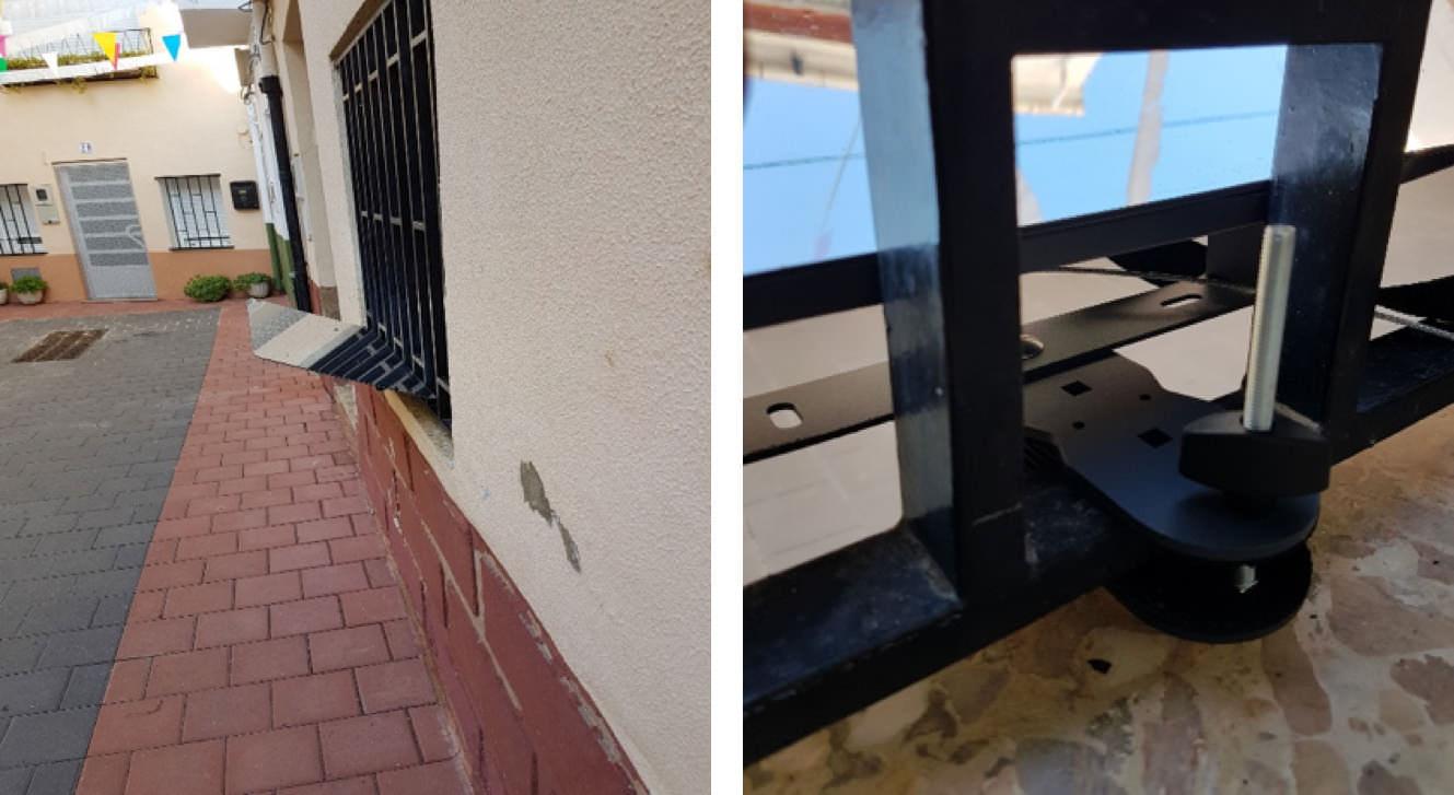 installation-du-reflecteur-balcon-avec-une-pose-grille-sur-une-maison-mitoyenne