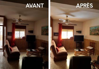 effet-avant-reflecteur-de-lumiere-et-apres-reflecteur-de-lumiere-dans-le-salon