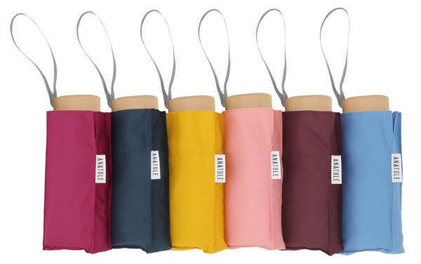 quatrième idée cadeau choisi par les Petits Frenchies et Espaciel, le micro parapluie Anatole solide léger et 100% français