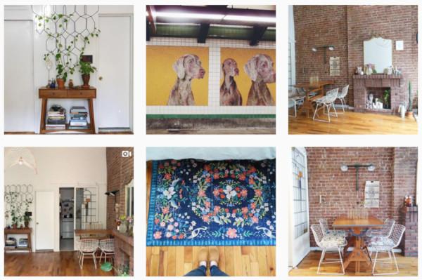 photos instagram de stéphanie pour donner des idées pour décorer son intérieur