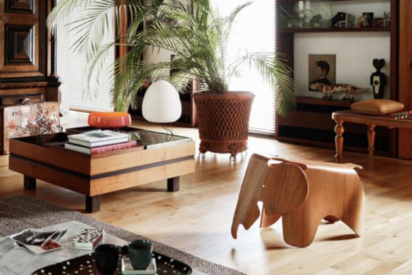 le légendaire elephant de charles eames pour faire référence à son blog