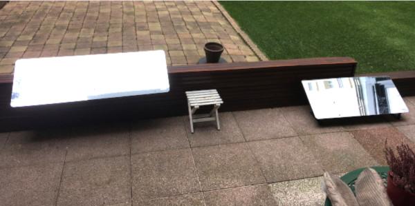 rendre son intérieur plus lumineux avec les réflecteurs terrasse posé au sol permettant de faire entrer la lumière du jour