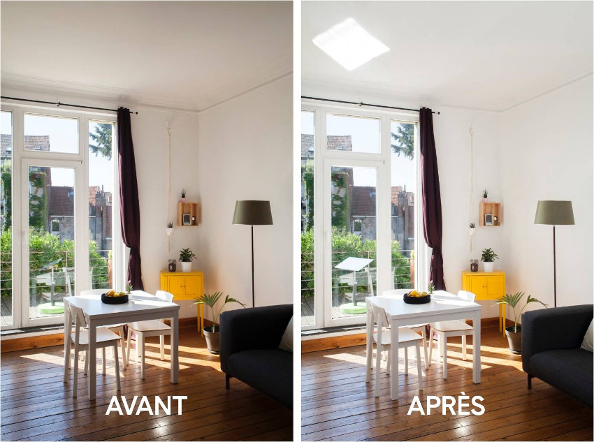 r flecteur jardin plus de lumi re naturelle dans votre. Black Bedroom Furniture Sets. Home Design Ideas